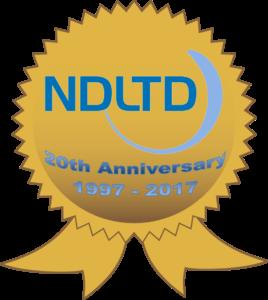 NDLTD 20th Anniversary Logo